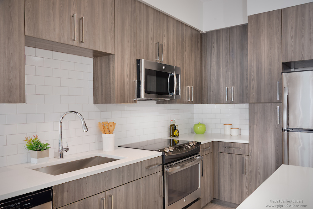 Baltimore interior design image of Anthem House Apartments in Maryand by Jeffrey Sauers of Commercial Photographics, Architectural Photo Artistry in Washington DC, Virginia to Florida and PA to New England
