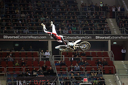 20.03.2015, Tauron Arena, Krakau, POL, Diverse night of the Jumps, FMX Weltmeisterschaft 2015, im Bild REMI BIZOUARD - FRANCJA // during the diverse night of the jumps FMX world championchip 2015 at the Tauron Arena in Krakau, Poland on 2015/03/20. EXPA Pictures © 2015, PhotoCredit: EXPA/ Newspix/ MAREK KLIMEK/NEWSPIX.PL<br /> <br /> *****ATTENTION - for AUT, SLO, CRO, SRB, BIH, MAZ, TUR, SUI, SWE only*****