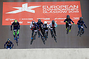 BMX Finals during the Cycling European Championships Glasgow 2018, at Glasgow BMX Centre, in Glasgow, Great Britain, Day 9, on August 10, 2018 - Photo luca Bettini / BettiniPhoto / ProSportsImages / DPPI<br /> - Restriction / Netherlands out, Belgium out, Spain out, Italy out -