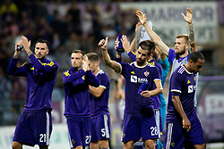 Players of NK Maribor after 2nd Leg football match between NK Maribor and Rangers FC in 3rd Qualifying Round of UEFA Europa League 2018/19, on August 16, 2018 in Stadion Ljudski vrt, Maribor, Slovenia. Photo by Urban Urbanc / Sportida
