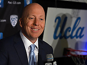 University of Los Angeles head coach Mick Cronin during Pac-12 Basketball Media Day, Tuesday, Oct. 8, 2019, in San Francisco, Calif. (Dylan Stewart/Image of Sport)