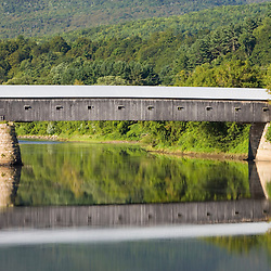 The Windsor-Cornish Covered Bridge spans the Connecticut River between Windsor, Vermont and Cornish, New Hampshire. Longest covered bridge in the world.