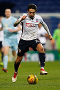 Bolton Wanderers midfielder Jem Karacan (8) during the EFL Sky Bet Championship match between Bolton Wanderers and Sunderland at the Macron Stadium, Bolton, England on 20 February 2018. Picture by Craig Galloway.