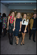PENNY BEER; STEPHANIE HERMANN; SOPHIE HERMANN, Sotheby's Frieze week party. New Bond St. London. 15 October 2014.