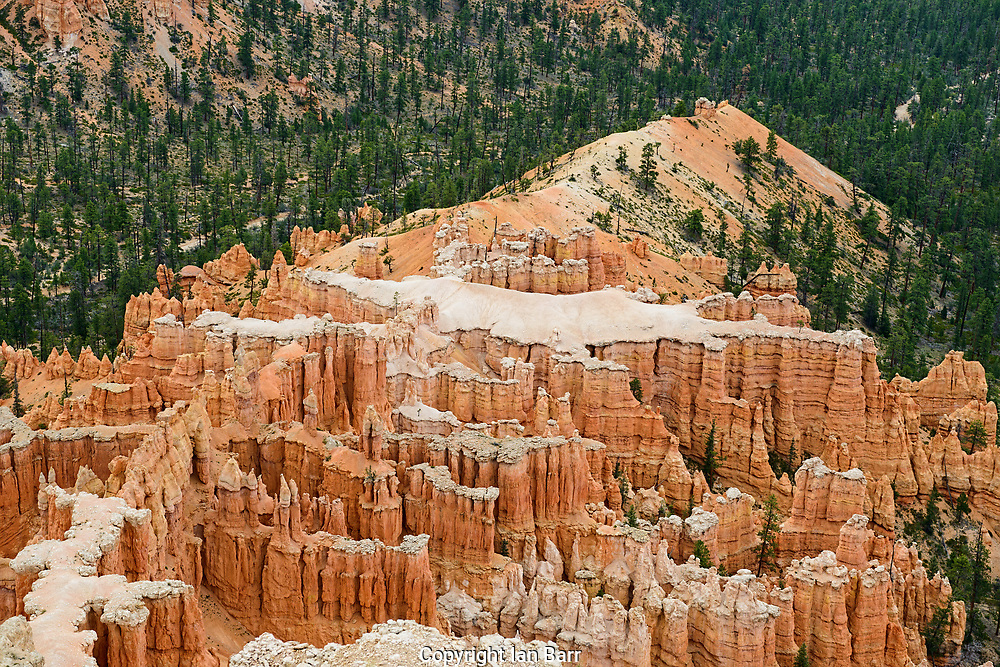 Inspiration Point,Bryce Canyon National Park Elevation 8100, Utah.