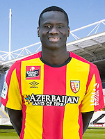 Guirane N'DAW - 30.10.2015 - Portrait Officiel - Lens<br /> Photo : RC Lens / Icon Sport