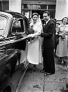 17/06/1952<br /> 06/17/1962<br /> 17 June 1962<br /> <br /> Breheny Wedding 33 Richmond Hill, Rathmines Church and reception at Gresham Hotel, Dublin.