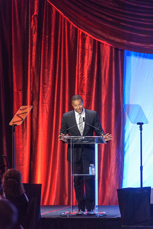 MSNBC anchor Craig Melvin, hosts the fourth annual  Muhammad Ali Humanitarian Awards Saturday, Sept. 17, 2016 at the Marriott Hotel in Louisville, Ky. (Photo by Brian Bohannon for the Muhammad Ali Center)