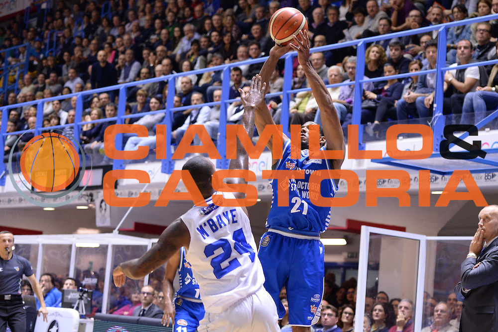 Darden Tremmell<br /> Enel Brindisi - Red October Cantu<br /> BASKET SerieA 2016-2017<br /> Brindisi 21 /11/2016 <br /> FOTO CIAMILLO