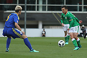 Sean Brennan of Republic of Ireland (11) during the UEFA European Under 17 Championship 2018 match between Bosnia and Republic of Ireland at Stadion Bilino Polje, Zenica, Bosnia and Herzegovina on 11 May 2018. Picture by Mick Haynes.