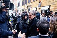 Roma  23 Aprile 2013.Si riunusce  la direzione nazionale del Partito Democratico. Gianni Cuperlo