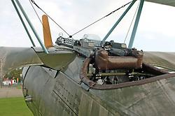 German Fokker, Pilot Machine Guns, (1917), The Great War, 1914-18 Aircraft, , The Duxford Air Show, 14th September 2014