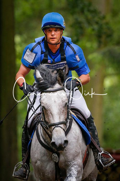 Van Winkel Steve (BEL) - Airkan Sylvester<br /> CIC 2* Arville 2013<br /> &copy; Dirk Caremans