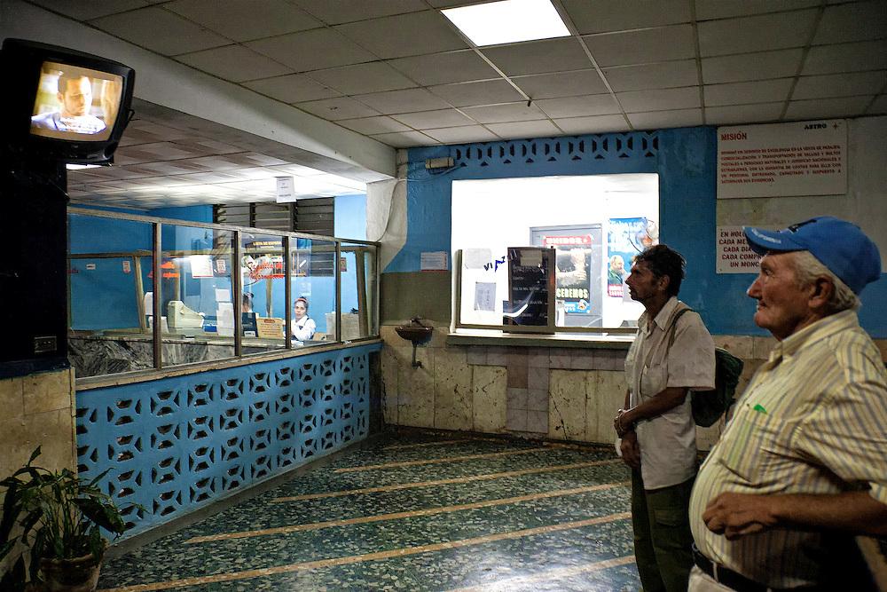 Bus station in Holguin, Cuba.