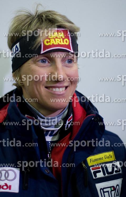 Marianna Longa of Italy at presentation of Fisher skiis at  FIS Nordic World Ski Championships Liberec 2008, on February 23, 2009, Arena Tipsport, Liberec, Czech Republic. (Photo by Vid Ponikvar / Sportida)