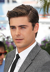 Zac Efron at the Cannes Film Festival, Thursday,24th  May 2012 for their new film The Paperboy.  Photo by: Stephen Lock / i-Images