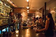 The bar at SakaMai.