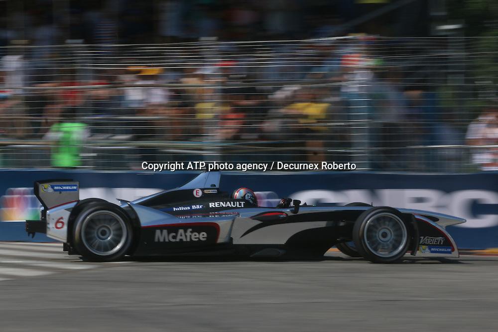 Oriol Servia, (ESP), Dragon Racing,<br /> Buenos Aires; January 10th 2015, E-Prix, FIA Formula E, <br /> fee liable image, copyright@ ATP Decurnex Roberto