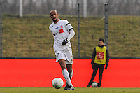 Loic NESTOR - 24.01.2015 - Clermont / Chateauroux  - 21eme journee de Ligue2<br />Photo : Jean Paul Thomas / Icon Sport