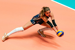 29-05-2019 NED: Volleyball Nations League Netherlands - Bulgaria, Apeldoorn<br /> Myrthe Schoot #9 of Netherlands