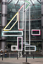 © Licensed to London News Pictures. 10/05/2016. London, UK. Channel 4 Studios in London. The broadcaster published it's annual report today, reporting record revenues of £979 million in 2015. Photo credit : Tom Nicholson/LNP