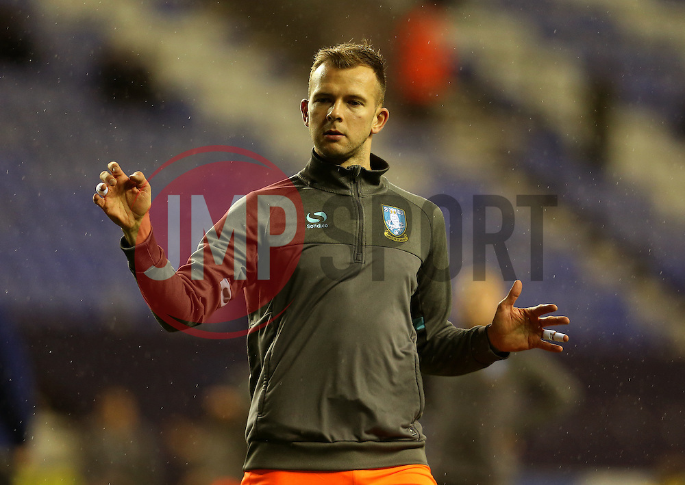 Jordan Rhodes of Sheffield Wednesday warms up - Mandatory by-line: Matt McNulty/JMP - 03/02/2017 - FOOTBALL - DW Stadium - Wigan, England - Wigan Athletic v Sheffield Wednesday - Sky Bet Championship
