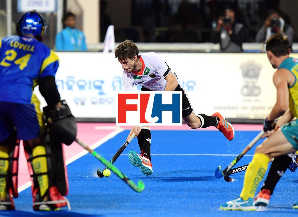 Odisha Men's Hockey World League Final Bhubaneswar 2017<br /> Match id:20<br /> Australia v Germany<br /> Foto: Florian Fuchs (Ger) <br /> COPYRIGHT WORLDSPORTPICS FRANK UIJLENBROEK