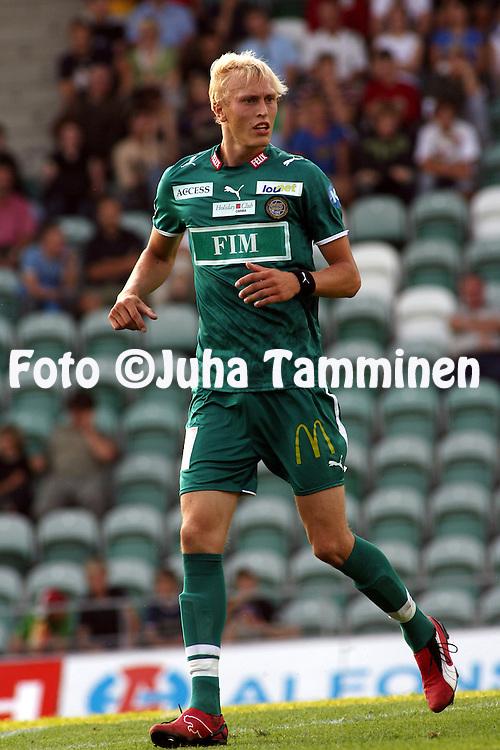 10.08.2006, Veritas Stadion, Turku, Finland..Veikkausliiga 2006 - Finnish League 2006.FC Inter Turku - FC TPS Turku.Ville Lehtonen - TPS.©Juha Tamminen.....ARK:k