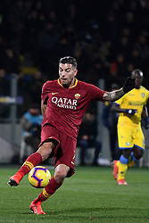 February 23, 2019 - Frosinone, Italia - Foto Alfredo Falcone - LaPresse.23/02/2019 Frosinone ( Italia).Sport Calcio.Frosinone - Roma.Campionato di Calcio Serie A Tim 2018 2019 - Stadio Benito Stirpe di Frosinone.Nella foto:pellegrini..Photo Alfredo Falcone - LaPresse.23/02/2019 Frosinone (Italy).Sport Soccer.Frosinone - Roma.Italian Football Championship League A Tim 2018 2019 - Stadium Benito Stirpe of Frosinone.In the pic:pellegrini (Credit Image: © Alfredo Falcone - Lapresse.&Quot/Lapresse via ZUMA Press)