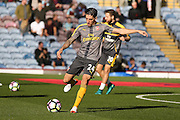 Arsenal defender Hector Bellerin (24)  during the Premier League match between Burnley and Arsenal at Turf Moor, Burnley, England on 2 October 2016. Photo by Simon Davies.