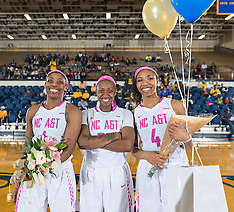2016-17 A&T Women's Basketball vs Savannah State (Senior Night)