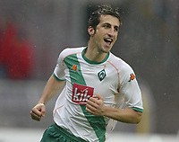 Fotball. 23. oktober 2004, <br /> Bundesliga SV Werder Bremen - 1. FC Nürnberg<br /> 2:0 Jubel Johan Micoud Bremen