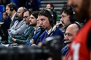 Nicolo Trigari<br /> A X Armani Exchange Olimpia Milano - Vanoli Cremona<br /> Quarti di finale<br /> LBA Legabasket Serie A Final 8 Coppa Italia 2019-2020<br /> Pesaro, 13/02/2020<br /> Foto L.Canu / Ciamillo-Castoria