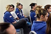 LUCCA 20 NOVEMBRE  2015<br /> BASKET NAZIONALE FEMMINILE<br /> MISS ITALIA ALICE SABATINI IN VISITA AL RITIRO DELLA NAZIONALE<br /> NELLA FOTO: Alice Sabatini<br /> FOTO CIAMILLO