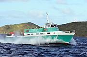 Inner island ferry, Virgin Islands.