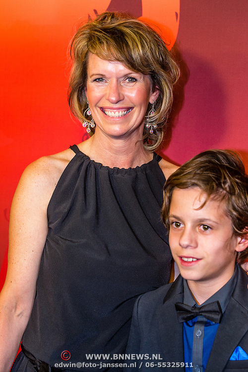 NLD/Amsterdam/20161221 - NOC*NSF Sportgala 2016, Anky van Grunsven en zoon Yannick