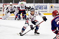2019-10-13   Tyringe, Sweden: Halmstad Hammers (88) Oscar Jacobsson during the game between Tyringe SoSs and Halmstad Hammers at Tyrs Hov (Photo by: Jonathan Persson   Swe Press Photo)<br /> <br /> Keywords: Tyrs Hov, Tyringe, Hockeyettan, Hockeyettansödra, Tyringe SoSs, Halmstad Hammers, (Match code th191013)