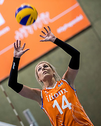10-05-2018 NED: Training Dutch volleyball team women, Arnhem<br /> Laura Dijkema #14 of Netherlands