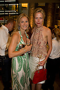 JULIETTA TENNANT; FELICIA BROCKLEBANK, Book launch party for  Sashenka, a romantic novel set in St Petersburg following a society girl who becomes involved with the Communist Party. By Simon Sebag-Montefiore. Asprey. New Bond St. London. 1 July 2008.  *** Local Caption *** -DO NOT ARCHIVE-© Copyright Photograph by Dafydd Jones. 248 Clapham Rd. London SW9 0PZ. Tel 0207 820 0771. www.dafjones.com.