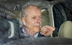 © Licensed to London News Pictures. 02/03/2019. Ashtead, UK. Transport Secretary Chris Grayling is driven from his home. Mr Grayling has been criticised after it was revealed that the government has paid £33 million to Eurotunnel in a legal dispute over post Brexit ferry contracts. Photo credit: Peter Macdiarmid/LNP