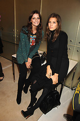 Left to right, actress MISCHA BARTON and Roman Abranovich's girlfriend DARIA ZHUKOVA at a party to launch jeweller Boodles new store at 178 New Bond Street, London W1 on 26th September 2007.<br /><br />NON EXCLUSIVE - WORLD RIGHTS