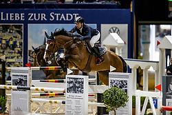 DUNON Gilles (BEL), Fou de Toi v. Keihoeve<br /> Grand Prix von Volkswagen<br /> Int. jumping competition over two rounds (1.55 m) - CSI3*<br /> Comp. counts for the LONGINES Rankings<br /> Braunschweig - Classico 2020<br /> 08. März 2020<br /> © www.sportfotos-lafrentz.de/Stefan Lafrentz