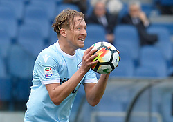 March 31, 2018 - Rome, Lazio, Italy - Lucas Leiva during the Italian Serie A football match between S.S. Lazio and Benevento at the Olympic Stadium in Rome, on march 31, 2018. (Credit Image: © Silvia Lore/NurPhoto via ZUMA Press)