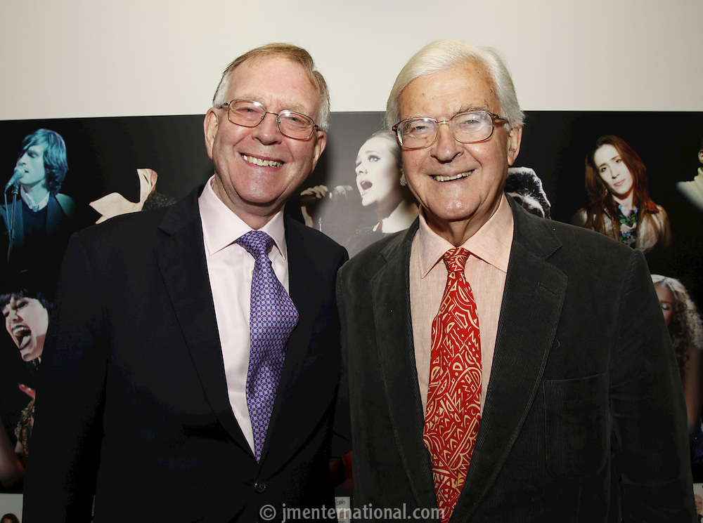 John Deacon CBE and Lord Baker of Dorking. The BRIT School Industry Day, Croydon, London..Thursday, Sept.22, 2011 (John Marshall JME)