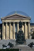 Philadelphia Museum of Art, Facade, Columns Minnesota Dolomite, Philadelphia, PA