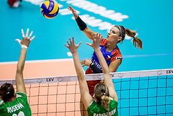 23-08-2017 NED: World Qualifications Czech Republic - Bulgaria, Rotterdam<br /> Andrea Kossanyiova #1 of Czech Republic