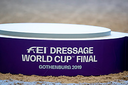 Podium World Cup Final Dressage<br /> LONGINES FEI World Cup™ Finals Gothenburg 2019<br /> © Hippo Foto - Stefan Lafrentz<br /> 06/04/2019