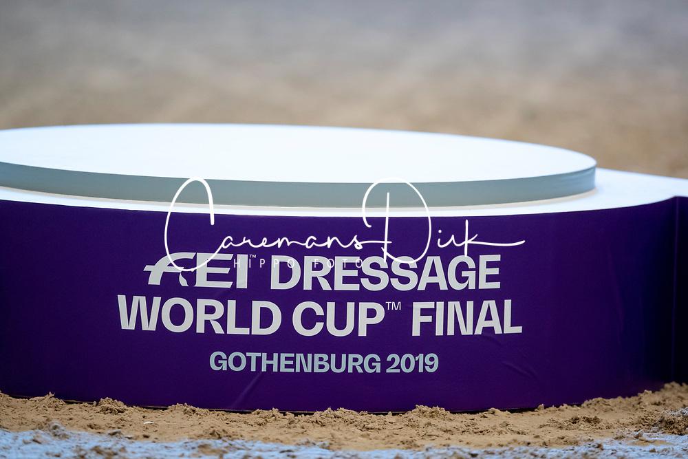 Podium World Cup Final Dressage<br /> LONGINES FEI World Cup™ Finals Gothenburg 2019<br /> © Hippo Foto - Stefan Lafrentz<br /> 06/04/2019