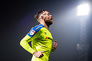 Derby County (6) Richard Keogh  during the EFL Sky Bet Championship match between Brentford and Derby County at Griffin Park, London, England on 26 September 2017. Photo by Sebastian Frej.