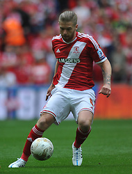 Adam Clsyton Middlesbrough, Middlesbrough v Norwich, Sky Bet Championship, Play Off Final, Wembley Stadium, Monday  25th May 2015